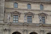 Louvre - Paris France - 01137 Print by DC Photographer