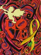 Philadelphia Drawings Posters - Love and Liberty Poster by Kevin J Cooper Artwork