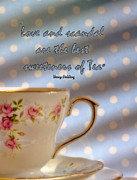 Cup Of Tea Photos - Love and Scandal by Karen Lewis