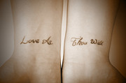 Shotwell Photography Prints - Love As Thou Will Print by Kathi Shotwell