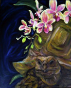 Andrea Lahue Art - Love Awaits this Late Bloomer by Andrea LaHue