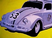 Herby Posters - Love Bug Poster by Nickie Mantlo