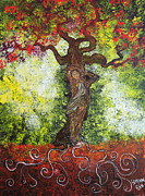 Tree Roots Painting Posters - Love Embodied Poster by Stefan Duncan