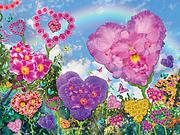 Love Garden Print by Alixandra Mullins