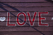 Valentines Day Prints - Love Print by Garry Gay