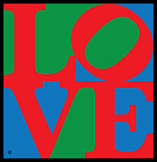 Pop Art Posters - Love Poster by Gary Grayson