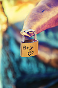 Love Padlock Digital Art Originals - Love by Gynt