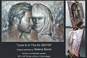 Young Love Painting Originals - Love Is In The Air 260709 Comp by Selena Boron