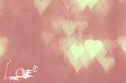 Engagement Digital Art Prints - Love is in the Air Print by Leapdaybride