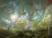 Fantasy Tree Art Art - Love is in the air by Philippe Fernandez