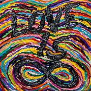 Love Is Infinite Print by Sean Ward