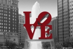 Altered Architecture Prints - Love Is Red Print by Brian Wallace