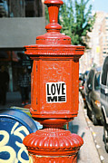 Analog Prints - Love Me Print by Jannis Werner