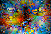 Herb Briley Prints - Love of the Crowd Print by Herb Briley