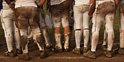 Uniforms Prints - Love of the Game Panorama Print by Anna Lisa Yoder