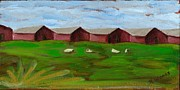 Sonoma County Painting Prints - Love the Country Print by Nancy Woods