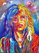 Rock And Roll Painting Originals - Love by To-Tam Gerwe