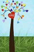 Love Tree Print by Tawnya Apuan