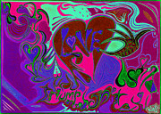 Kenneth James Posters - Love Triumphant 3of3 v2 Poster by Kenneth James