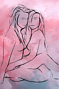 Lesbian Mixed Media - Love without frontiers by Stefan Kuhn
