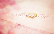 HJBH Photography - Love written with a golden ring