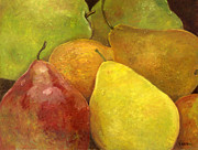 Bosc Framed Prints - Lovely Pears Framed Print by Vicky Watkins