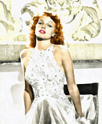Hayworth Posters - Lovely Rita Poster by Mo T