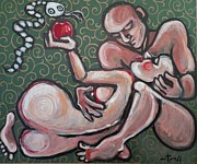Carmen Tyrrell - Lovers - Adam and Eve -...