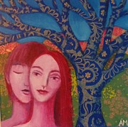 Alice Mason - Lovers and Blue Tree