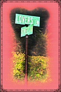 Lovers Digital Art - Lovers Lane by Bill Cannon