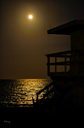 Lovers Moon Print by Rene Triay Photography