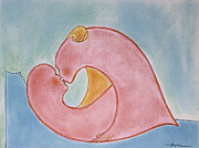 Passionate Paintings - LoversHeart Valentine by Asha Carolyn Young