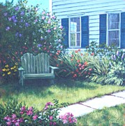 P Town Paintings - Loveseat by Candice Ronesi