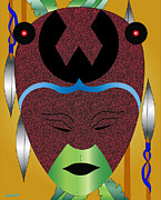 African-american Digital Art - Lovey Mother of Creation by Charles Smith