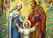 Holy Family Photos - Loving Jesus by Munir Alawi