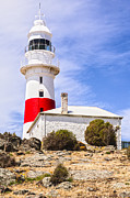 Tasmania Prints - Low Head Lighthouse Tasmania Australia Print by Colin and Linda McKie