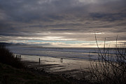 Cannon Beach Prints - Low Tide Print by Mike Reid