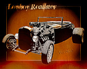 Chas Sinklier - LowBoy Roadster Drawing