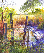 Rice Field Paintings - Lowcountry Legacy by Alice Grimsley