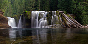 Tim Moore Metal Prints - Lower Falls Metal Print by Tim Moore