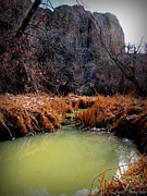 Watson Lake Photos - Lower Granite Creek by Aaron Burrows