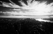 Manhatten Prints - Lower Manhattan New York City Usa Print by Joe Fox