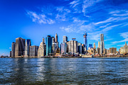 Lower Manhattan Framed Prints - Lower Manhattan Framed Print by Randy Scherkenbach