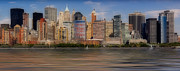 New York City Skyline Art - Lower Manhattan by Susan Candelario