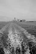 11 Wtc Digital Art Metal Prints - LOWER NEW YORK in BLACK AND WHITE Metal Print by Rob Hans