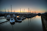 Lowestoft Metal Prints - Lowestoft Marina at dawn  Metal Print by Rob Hawkins