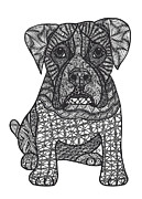 Loyalty- Boxer Dog Print by Dianne Ferrer