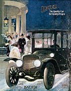 Advertisment Posters - Lozier Cars - Vintage Advertisement Poster by World Art Prints And Designs
