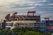 Nashville Tennessee Art - LP Field - Nashville Tennessee  by John McGraw