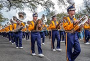 Marching Band Photo Posters - LSU Tigers Band 2 Poster by Steve Harrington